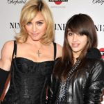 Madonna with her daughter Lourdes Maria Ciccone Leon