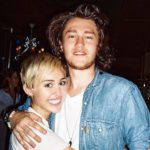 Miley Cyrus with her brother Braison Cyrus