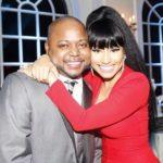 Nicki Minaj with her brother Jelani Maraj