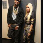 Nicki Minaj with her ex boyfriend Safaree Samuels