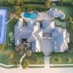 Selena Gomez house upside view