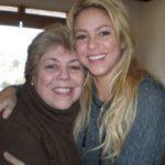 Shakira with her mother Nidia del Carmen Ripoll Torrado