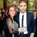 Zayn Malik with his mother Tricia Brannan Malik