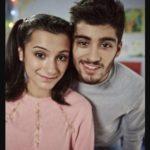 Zayn Malik with his sister Waliyha