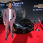 anthony mackie and CHEVROLET CORVETTE image