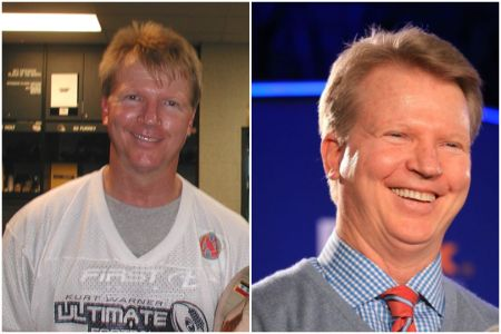 Phil Simms Before and After Pictures