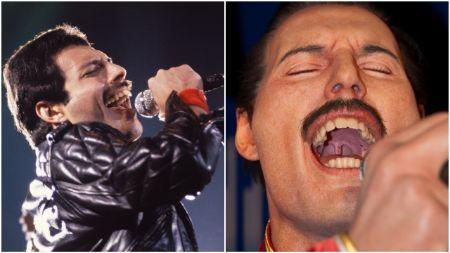 Freddy Mercury Teeth and Singing