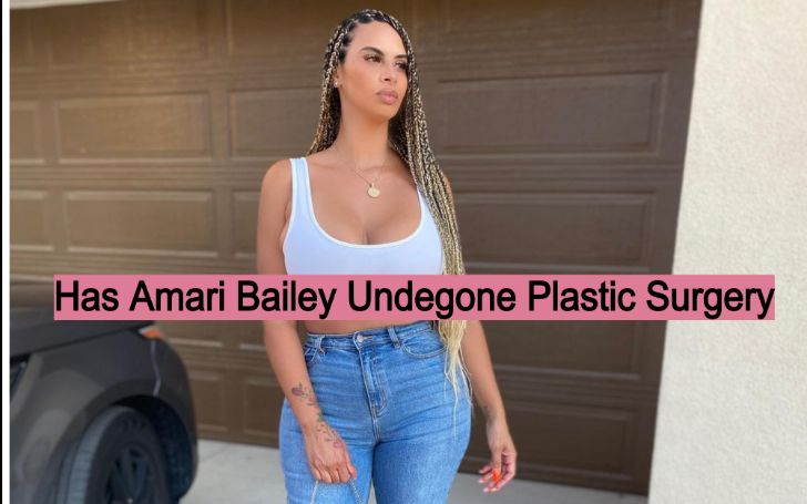 Amari Bailey's 40 year-old Mother is Suspected of Plastic Surgeries!!!