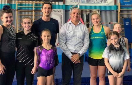 Emily whitehead with olympics tokyo family