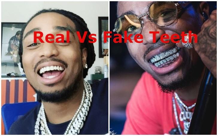 All About American Rapper Quavo Diamond Grill Teeth!!