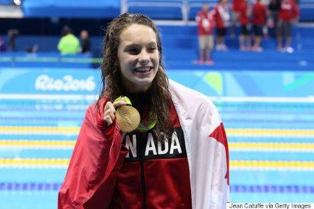 Penny Olesiak in Rio 2016