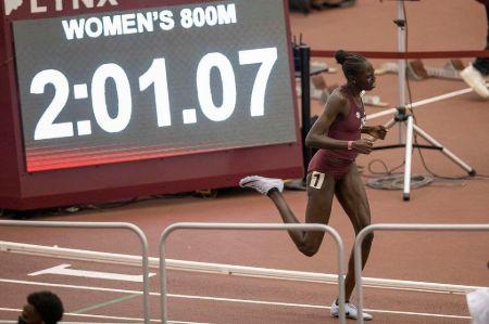 Athing Mu in Olympics