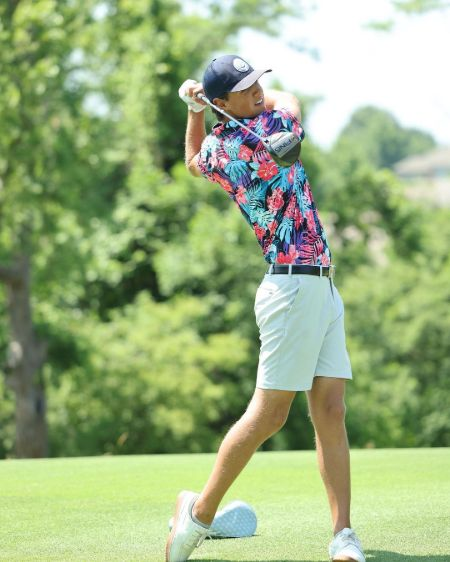 The Snippet of the American professional golfer, Grant Horvat