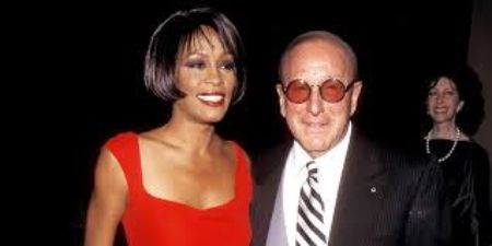 Clive's Davis and Whitney Houston