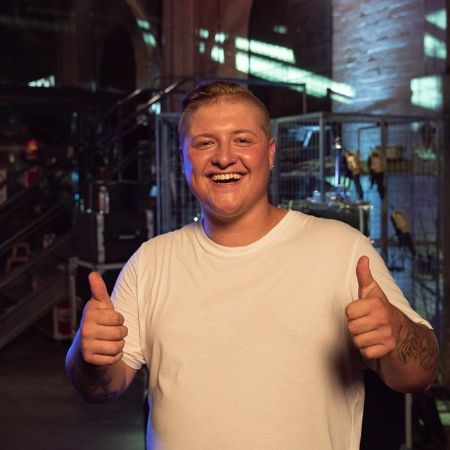 Byron Garn after doing the first round at The Voice (AU)
