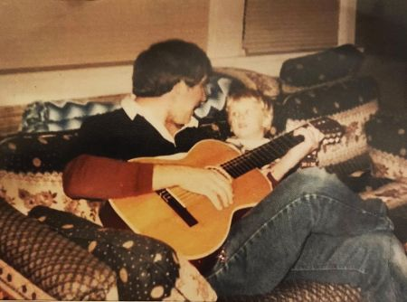 Cole Swindell and his father