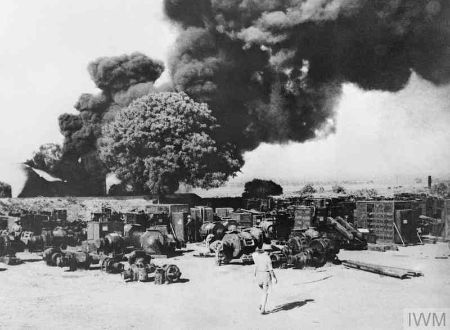 The disaster that took place in Second World War 1939