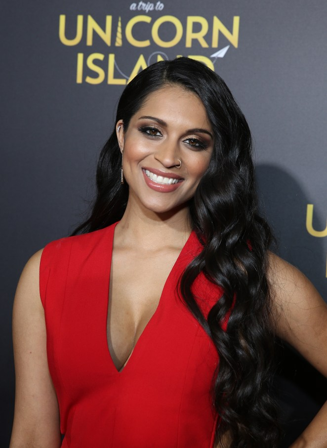 """HOLLYWOOD, CALIFORNIA - FEBRUARY 10: Lilly Singh attends YouTube Red Original Premiere of """"A Trip To Unicorn Island"""" at TCL Chinese Theatre on February 10, 2016 in Los Angeles, California. (Photo by FilmMagic/FilmMagic)"""