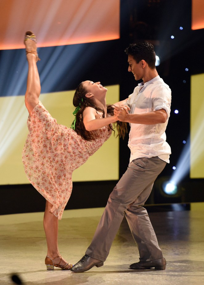 "SO YOU THINK YOU CAN DANCE: L-R: Top 9 contestant Ruby Castro and all-star Paul Karmiryan perform an Argentine Tango routine to ""Malevo"" choreographed by Miriam Larici & Leonardo Barrionuevo on SO YOU THINK YOU CAN DANCE airing Monday, July 25 (8:00-10:00 PM ET live/PT tape-delayed) on FOX. ©2016 FOX Broadcasting Co. Cr: Michael Becker"