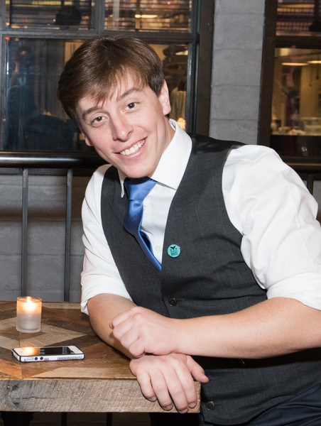 Vine star Thomas Sanders attends the 7th Annual Shorty Awards after party Photo from: Noam Galai/Getty Images North America