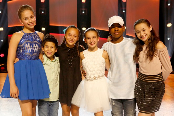 SO YOU THINK YOU CAN DANCE: L-R: The top 6 contestants Tate McRae, J.T. Church, Tahani Anderson, Emma Hellenkamp, Kida Burns and Ruby Castro on SO YOU THINK YOU CAN DANCE airing Monday, August 1 (8:00-10:00 PM ET live/PT tape-delayed) on FOX. ©2016 FOX Broadcasting Co. Cr: Adam Rose