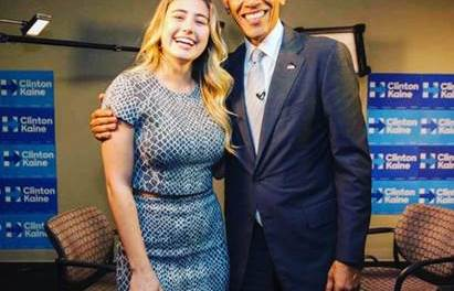 Lia Marie Johnson Interviews President Obama – Watch the Full Video Here
