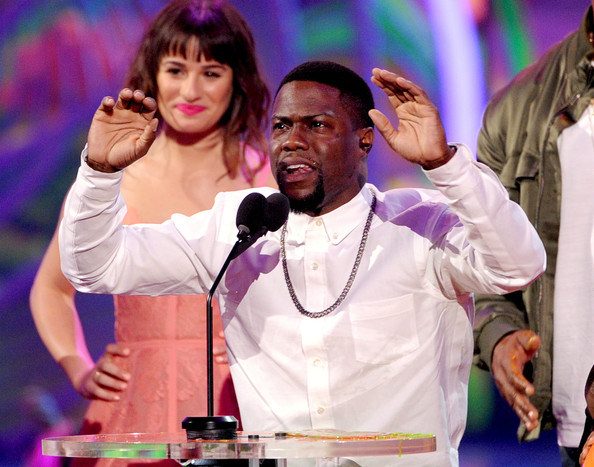 Kevin Hart kids' choice awards