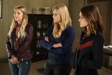 ASHLEY BENSON, SASHA PIETERSE, LUCY HALE
