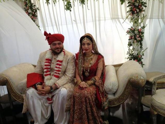 Pakistani Singer Kiran Choudhary Wedding Unseen Pictures (1)