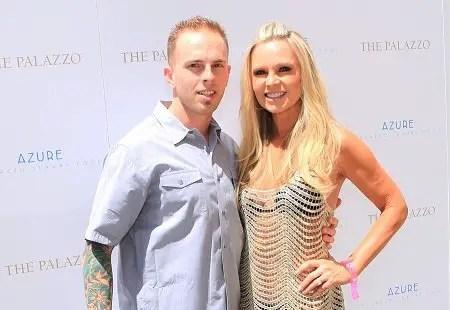 Tamra Judge and son Ryan Vieth.