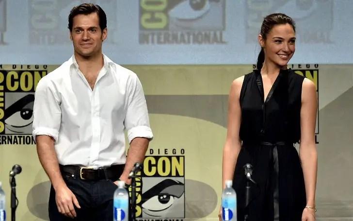 Henry Cavill and Gal Gadot Superman vs. Wonder Woman wage war.