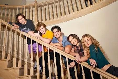 The Hype House founders: Chase Hudson, Alex Warren, Thomas Petrou, Kouvr Annon and Daisy Keech.