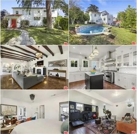 Finneas O'Connell's new home in the Los Feliz neighborhood.