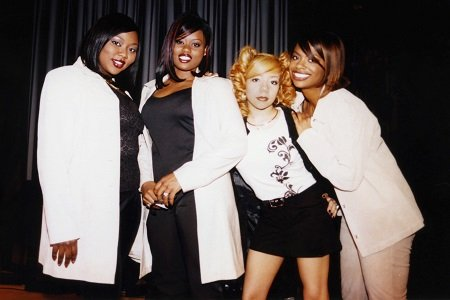 Kandi Burruss and her gang of Xscape.