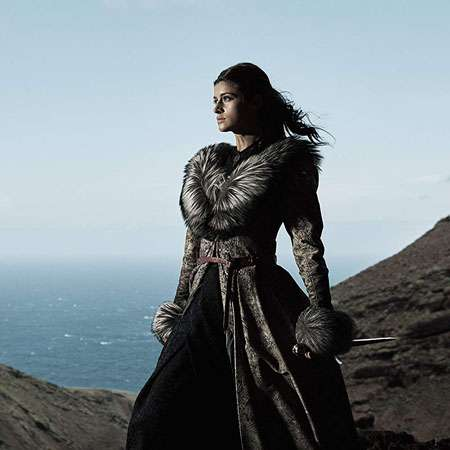 Anya Chalotra is playing the character of Yennefer in the series 'The Witcher.'