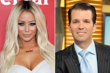 Aubrey O'Day and Donald Trump Jr. were in a relationship which ended in 2012.