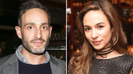 Aurora Perrineau and Murray Miller, the man accused of sexually assaulting her.