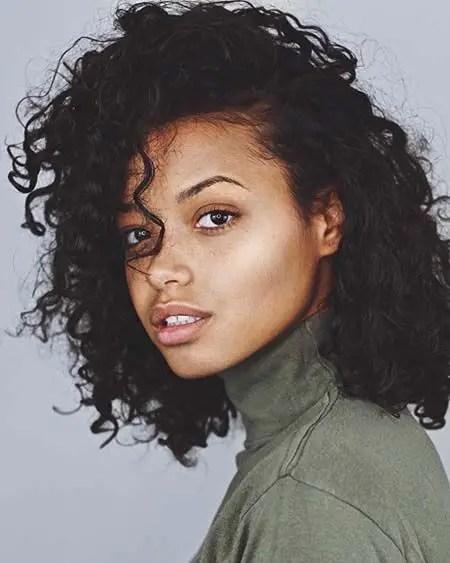 Ella Balinska in her profile image. Will star in Charlie's Angels next.