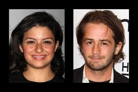 Alia Shawkat dated boyfriend Michael Angarano for a year.