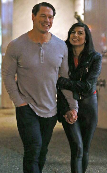 Boyfriend John Cena is in a relationship with his girlfriend Shay Shariatzadeh.