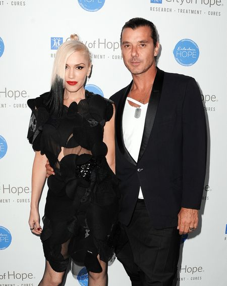 Gavin Rossdale with his ex-wife Gwen Stefani.