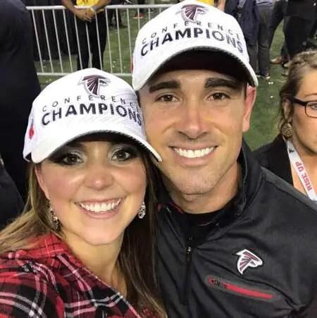 Matt LaFleur is married to his wife BreAnne LaFleur.