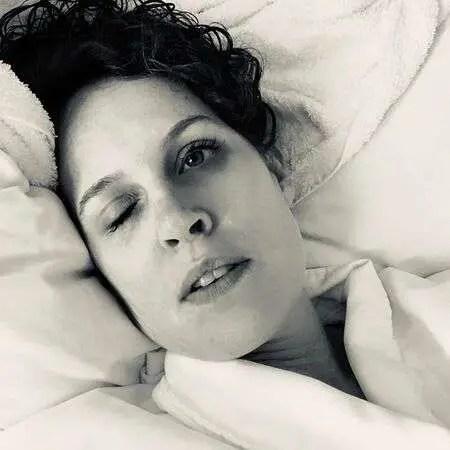 'See' actress Marilee Talkington remains unfazed despite her blindness.