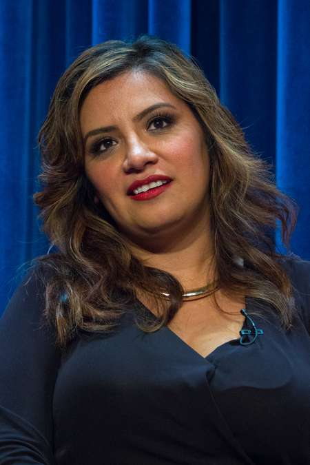 Cristela Alonzo plays the voice role of Hester in 'His Dark Materials'.