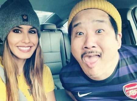 Bobby Lee is married to his girlfriend turned wife, Khalyla Kuhn.