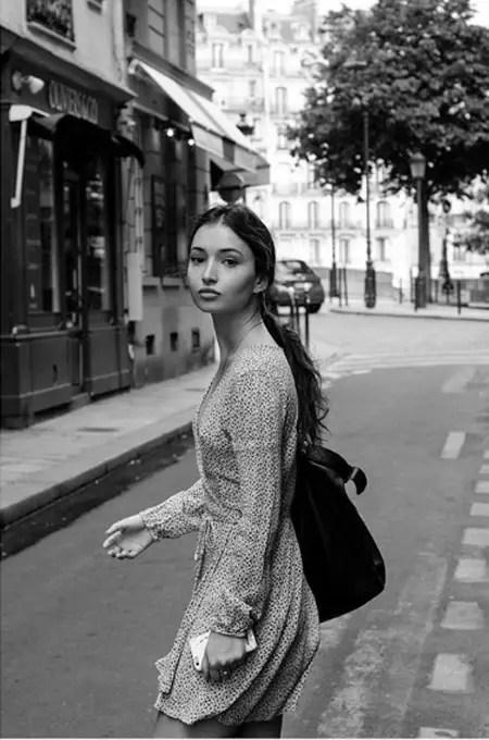 Jenna Berman in Paris.
