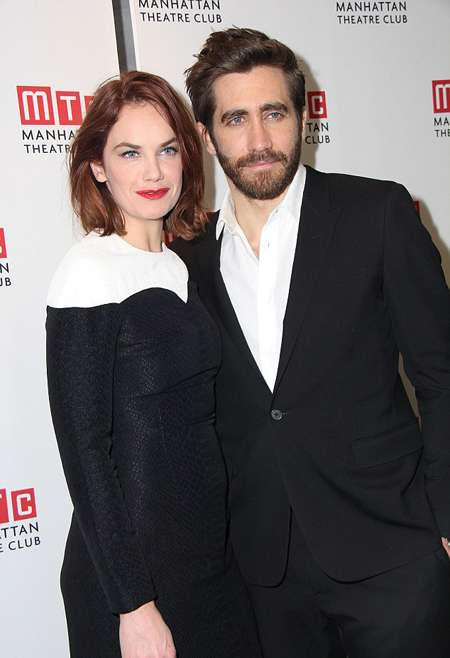 Jake Gyllenhal and Ruth Wilson were said to be in a relationship.