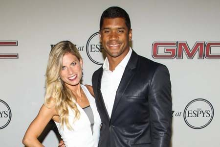 Russell Wilson and Ashton Meem got engaged while in college.