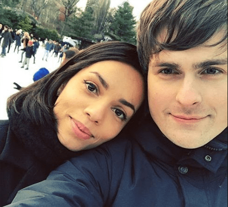 Tom Speight and Georgina Campbell were in a relationship for a while.