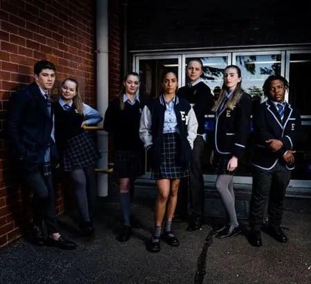Georgio Stone was cast as Mackenzie Hargreaves in the Australian soap 'Neighbors.'